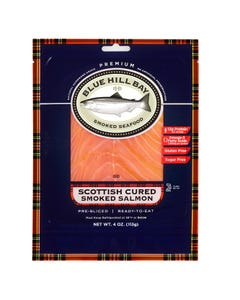 4 oz. Scottish Cured Smoked Salmon