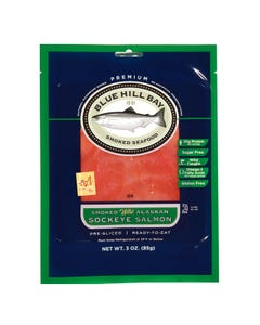 3 oz. Smoked Sockeye Salmon