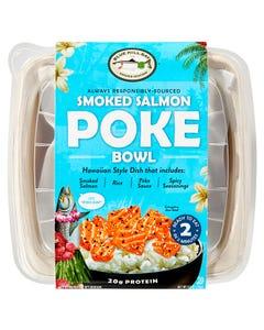 Smoked Salmon Poke Bowl