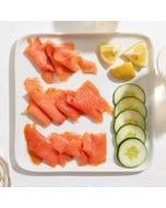 Blue Hill Bay Organic Smoked Salmon, (2) x 3 oz.