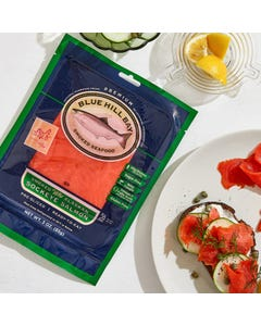 Blue Hill Bay Wild Smoked Sockeye Salmon, 3oz.