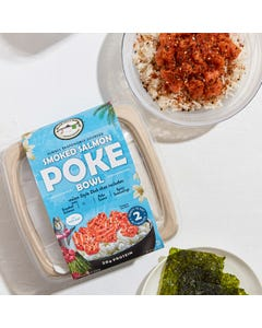 Blue Hill Bay Smoked Salmon Poke, 8.8oz
