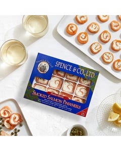 Spence Smoked Salmon Pinwheels, 4oz.
