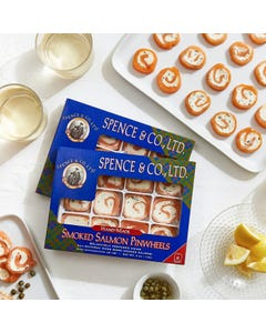 Spence Smoked Salmon Pinwheels, (2) x 4oz.