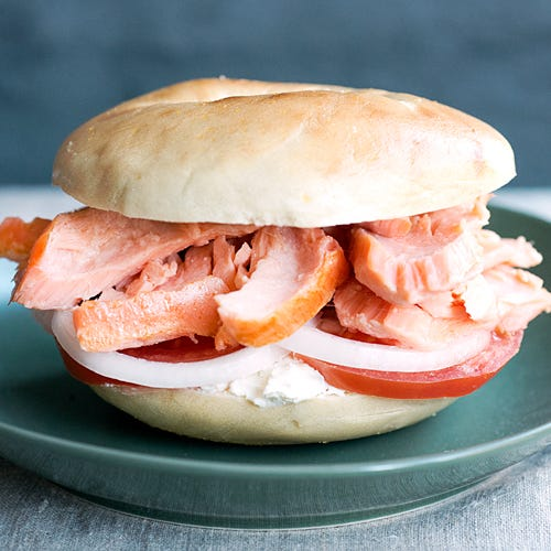 EASTERN BAKED SALMON & CREAM CHEESE