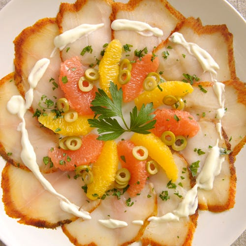 SMOKED SABLE CARPACCIO